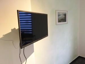 TV im Schlafzimmer zwei